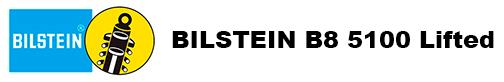 Bilstein B8 5100 lifted