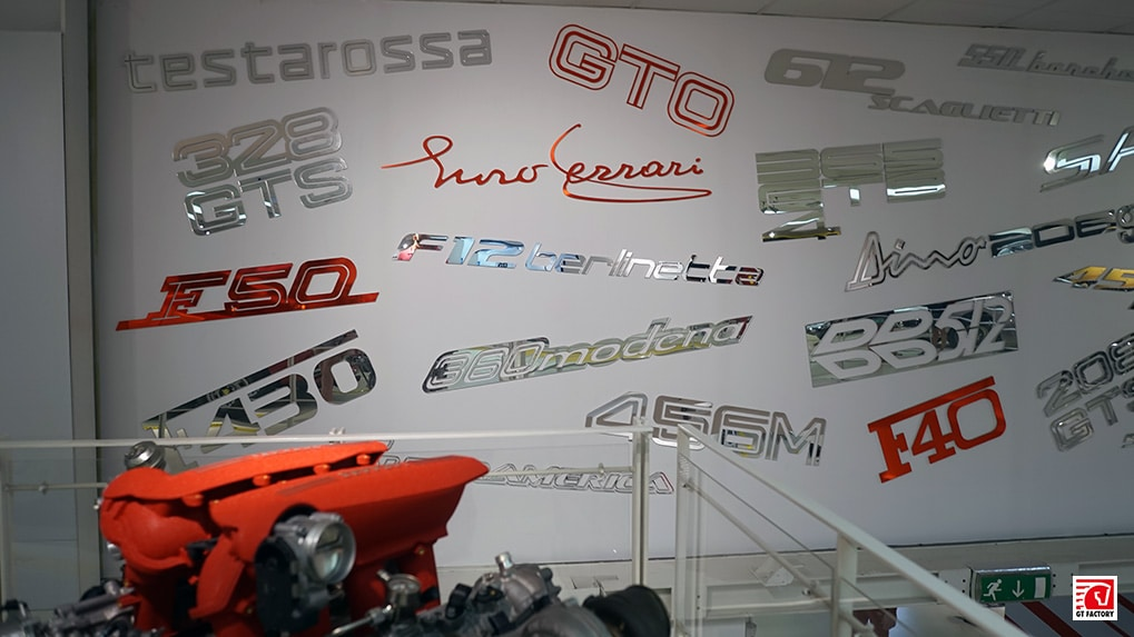 Музей Ferrari логотипы
