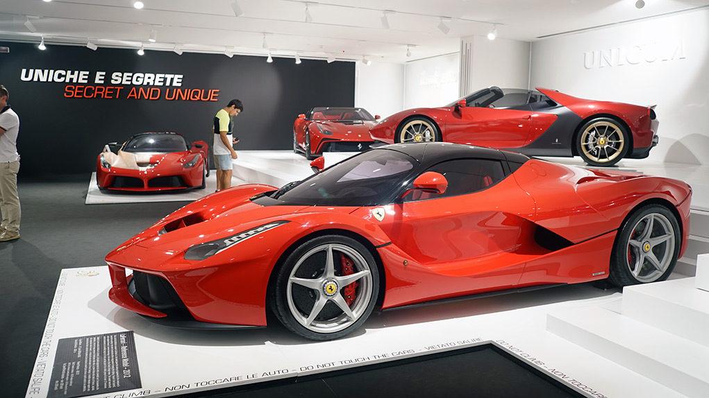 Музей Ferrari в Маранелло глазами GT Factory