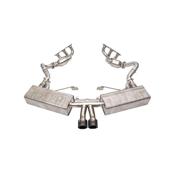 ipe porsche 981 boxster cayman полная выхлопная система титан