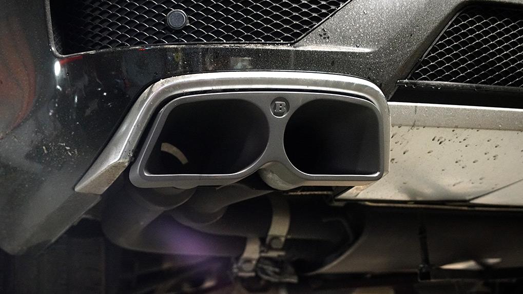 Mercedes-Benz ML63 W166 Brabus насадка