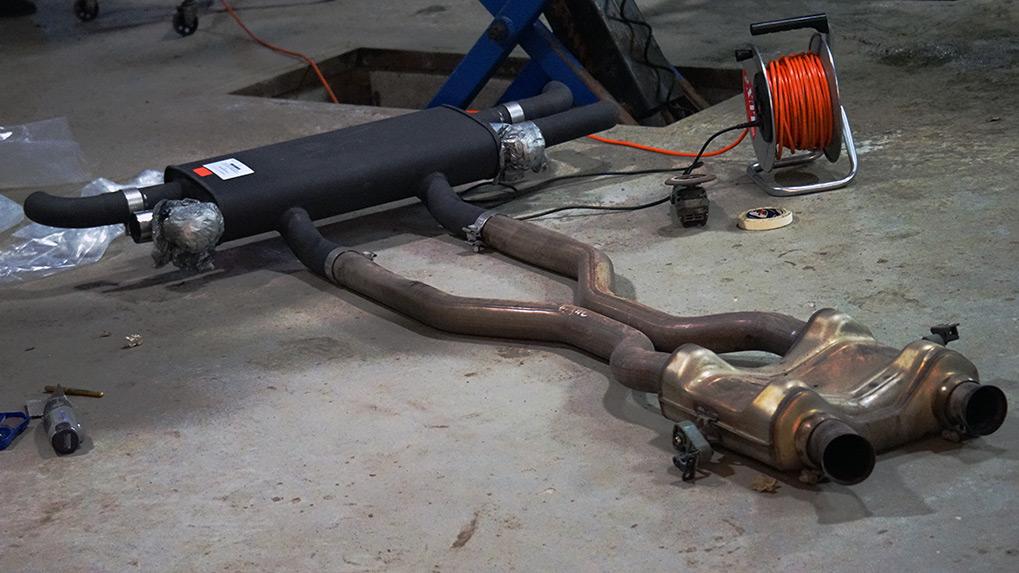 Mercedes-Benz ML63 W166 Brabus процесс установки