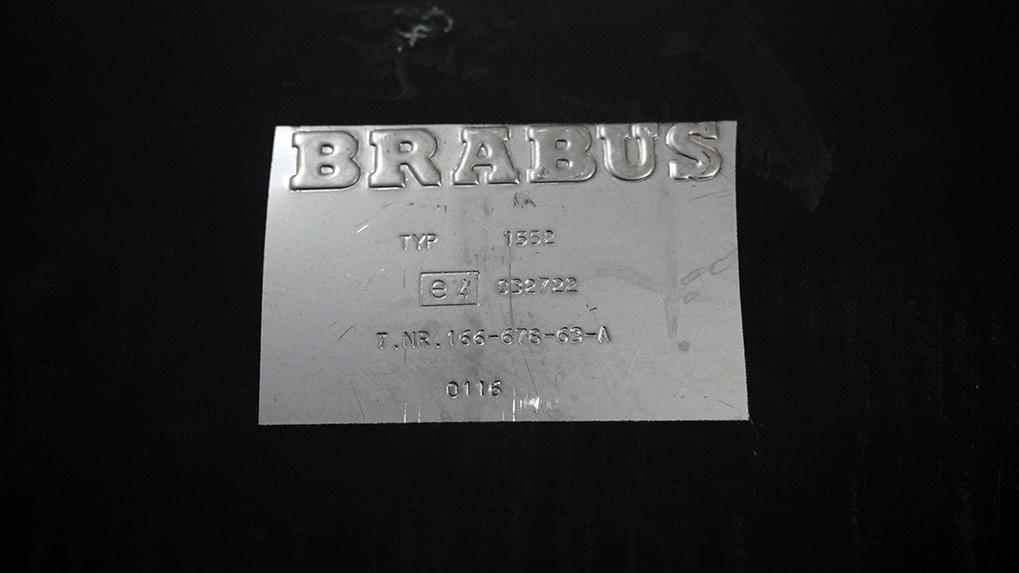 Mercedes-Benz ML63 W166 Brabus оригинальная выхолпная система продажа
