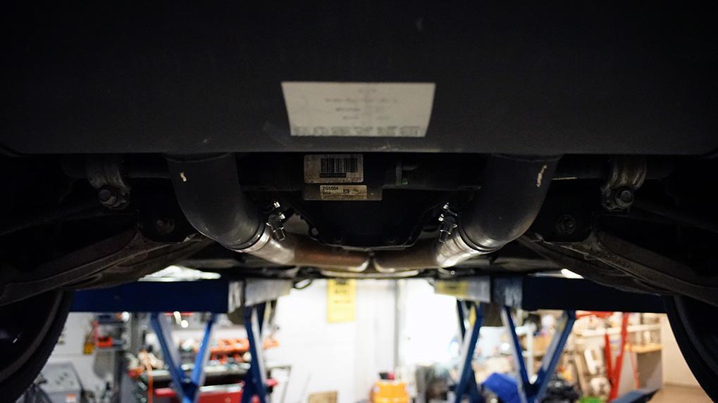 Mercedes-Benz ML63 W166 Brabus установка системы на место