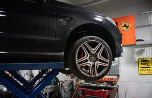 Mercedes-Benz ML63 W166 Brabus выхлопная система продажа и установка
