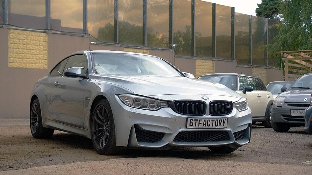 проект BMW M4 F82 по установке титановой выхлопной системы iPE