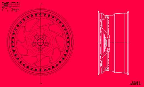 Кованные диски Messer ME04-3