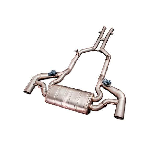 ipe mercedes-benz amg gt-s m178 титановая выхлопная система с клапанами