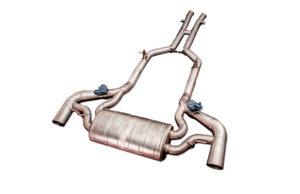 ipe mercedes-benz amg gt-s m178 титановая выхлопная система