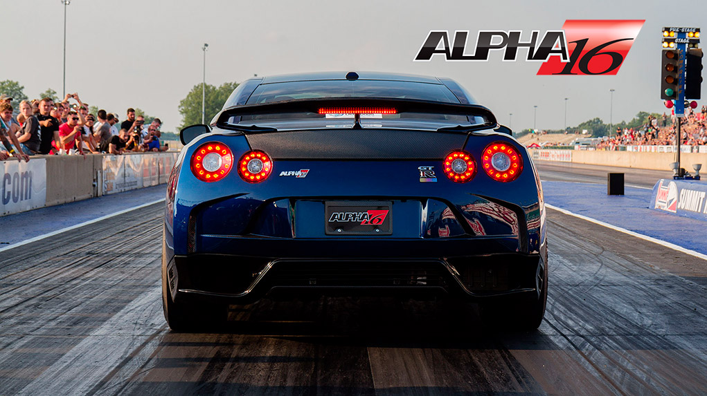 Nissan R35 GTR Alpha 16 от AMS