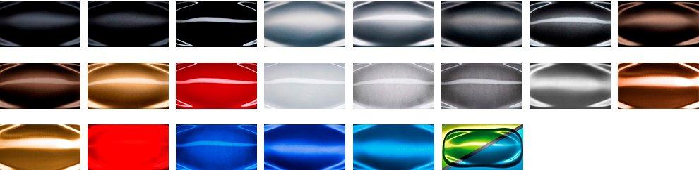 варианты покрытий дисков HRE RS102