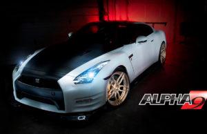 Nissan R35 GTR Alpha 9 от AMS
