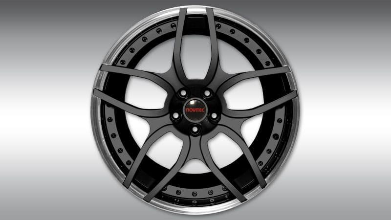 Lamborghini LP610-4 Huracan Spyder Novitec NL1 Wheels black