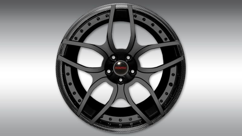 Lamborghini LP610-4 Huracan Spyder Novitec NL1 Wheels custom carbon