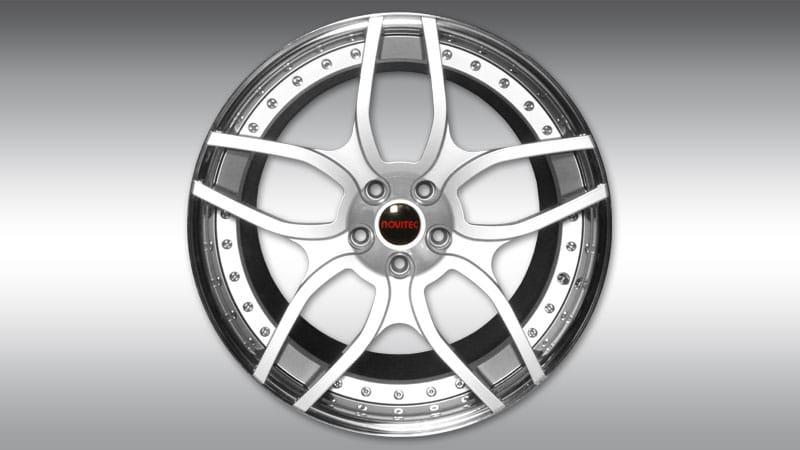 Lamborghini LP610-4 Huracan Spyder Novitec NL1 Wheels silver