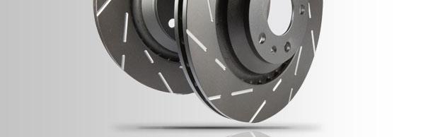 EBC тормозные диски с проточкой USR rotor new