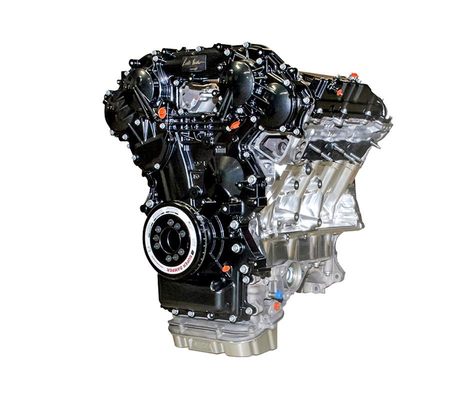 Nissan R35 GT-R Alpha двигатель