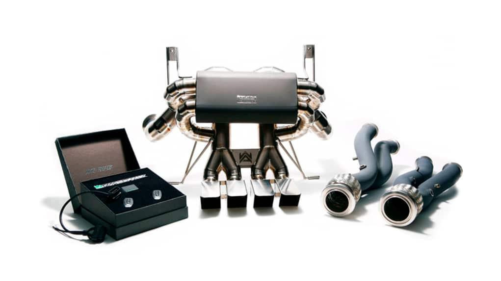 armytrix lamborghini lp750-4 sv полная титановая выхлопная система