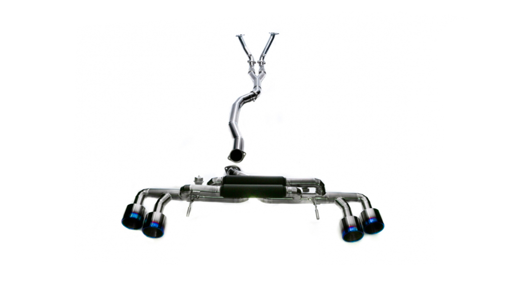 armytrix nissan gt-r r35 полная титановая выхлопная система с клапанами