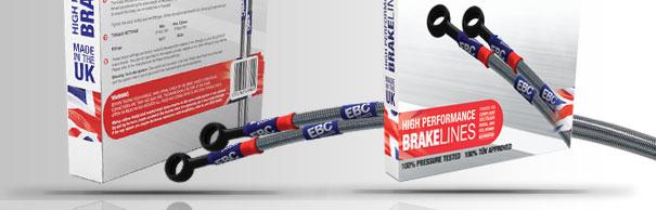 EBC армированные тормозные шланги