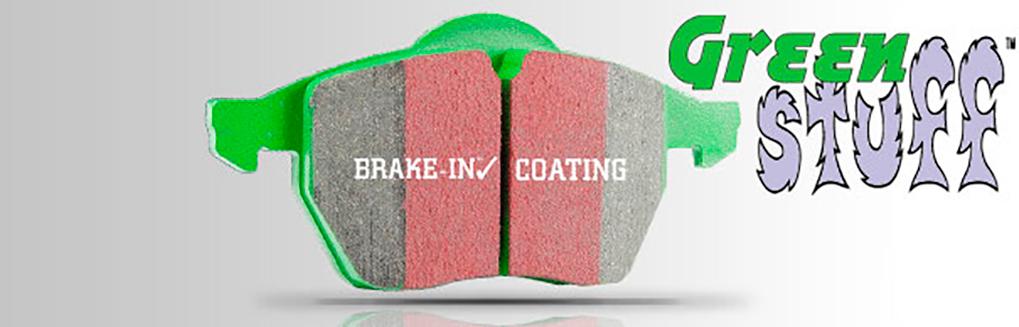 EBC Green Stuff эффективные тормозные колодки