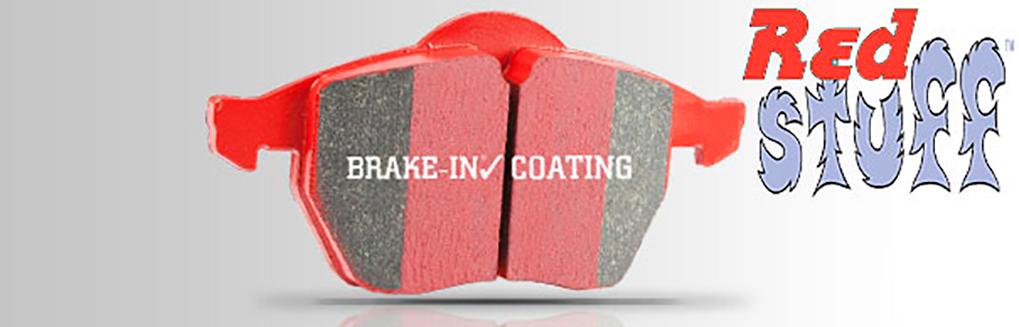 EBC Red Stuff керамические тормозные колодки