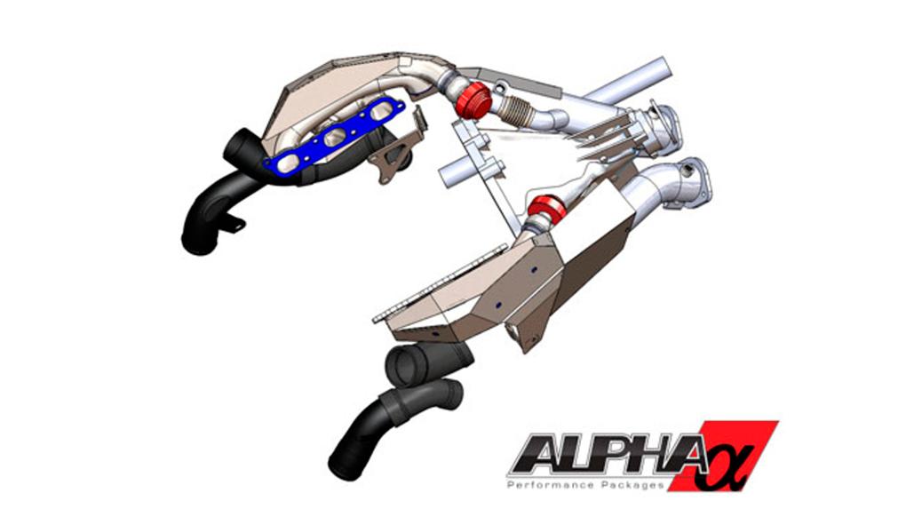Alpha 12 R35 Nissan GT-R турбо кит САПР проектирование