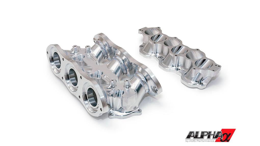Alpha Nissan R35 GT-R впускной карбоновый коллектор