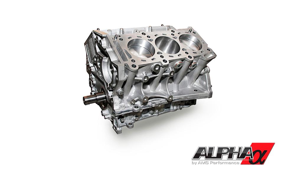 Alpha Performance 3.8L VR38 Race Short Block усиленный блок цилиндров