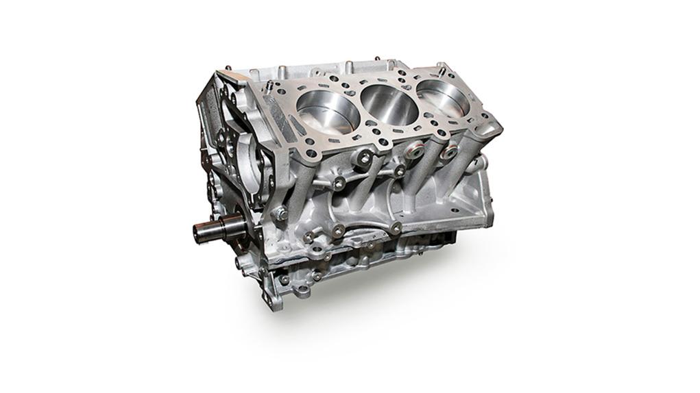 Alpha Performance 4.1L VR38 Stroker Race Short Block гоночный блок цилиндров