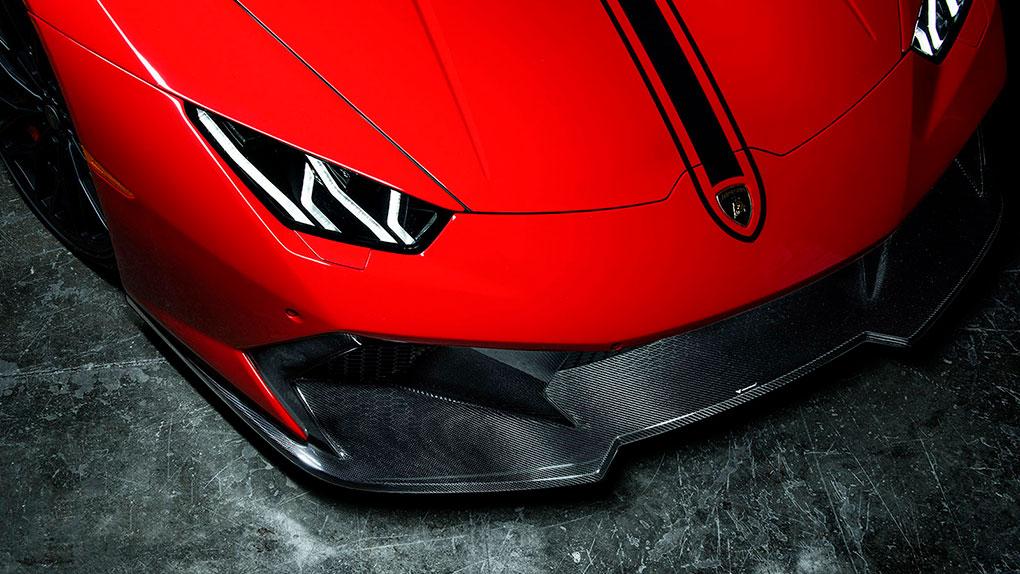 Vorsteiner Novara Edizione Lamborghini LP610-4 Huracan передний бампер + губа