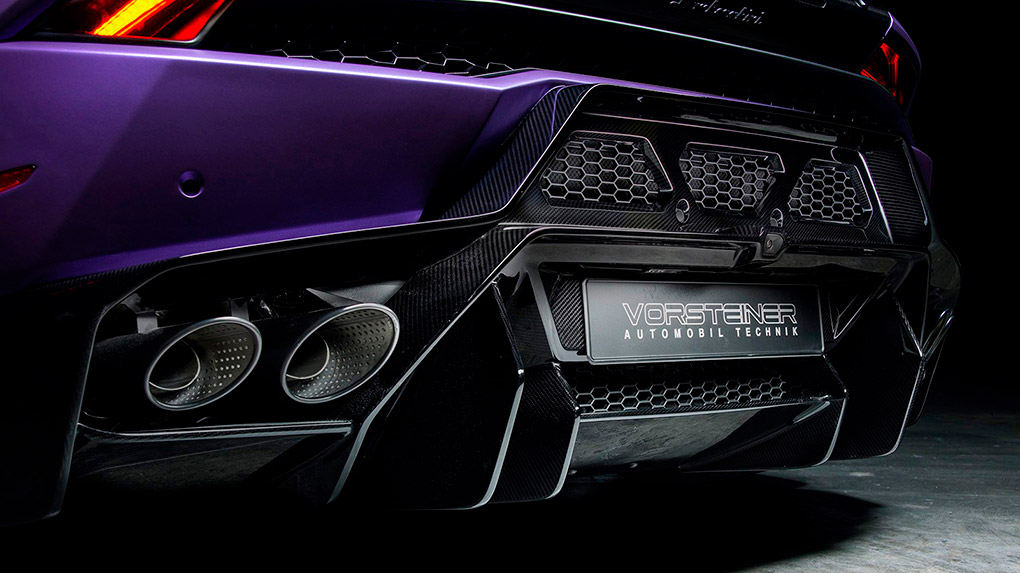 Vorsteiner Novara Edizione Lamborghini LP610-4 Huracan задний бампер + задний диффузор