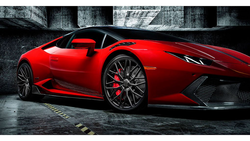 Vorsteiner Novara Edizione Lamborghini LP610-4 Huracan боковые диффузоры