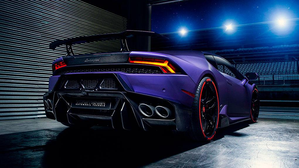 Vorsteiner Novara Edizione Lamborghini LP610-4 Huracan заднее антикрыло