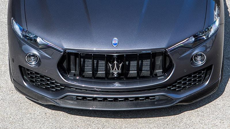 Novitec Maserati Levante Front Lip Spoiler