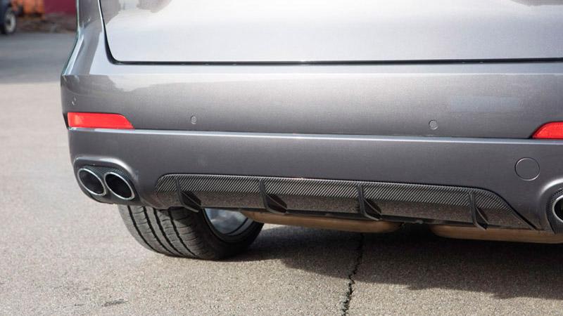 Novitec Maserati Levante Rear Diffuser