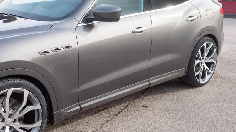 Novitec Maserati Levante Side Panels