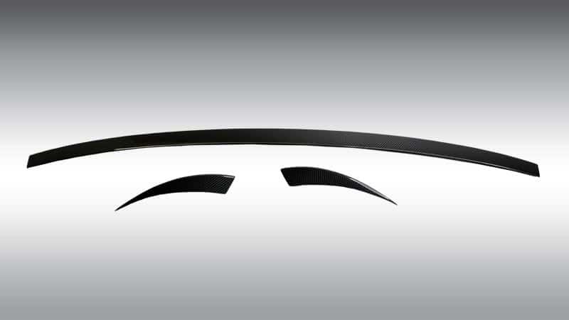 Novitec Maserati Levante Esteso Rear Lip Spoiler