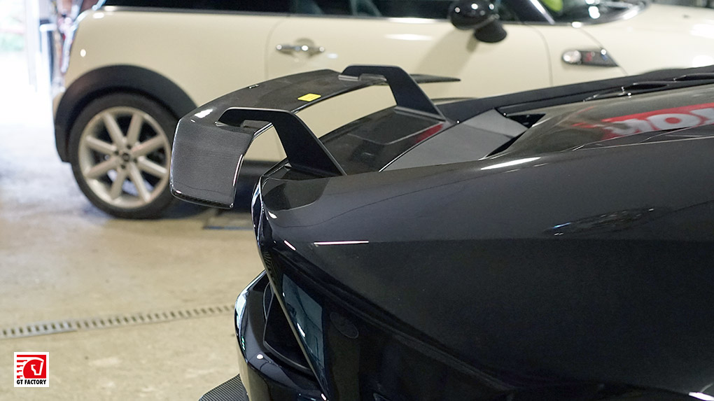 Lamborghini Huracan Novitec Torado + Vorsteiner Verona задний спойлер