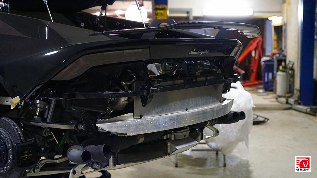 Lamborghini Huracan LP610-4 Vorsteiner установить