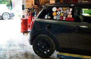 Полная титановая выхлопная система iPE MINI Cooper S F56