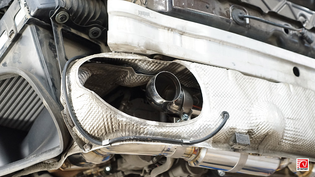 iPE Porsche 997.2 Turbo S полная выхлопная система установка глушителя