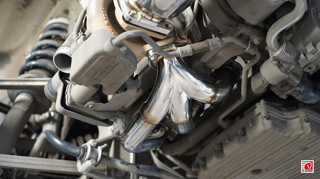 iPE Porsche 997.2 Turbo S полная выхлопная система установка коллекторов