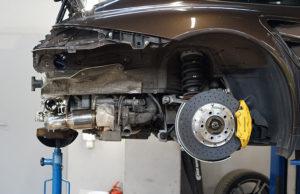 iPE Porsche 997.2 Turbo S полная выхлопная система установка