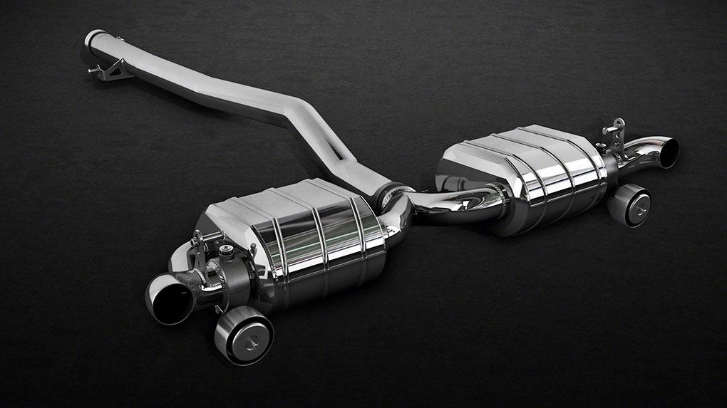 Выхлопная система Capristo Mercedes-Benz CLA45 AMG