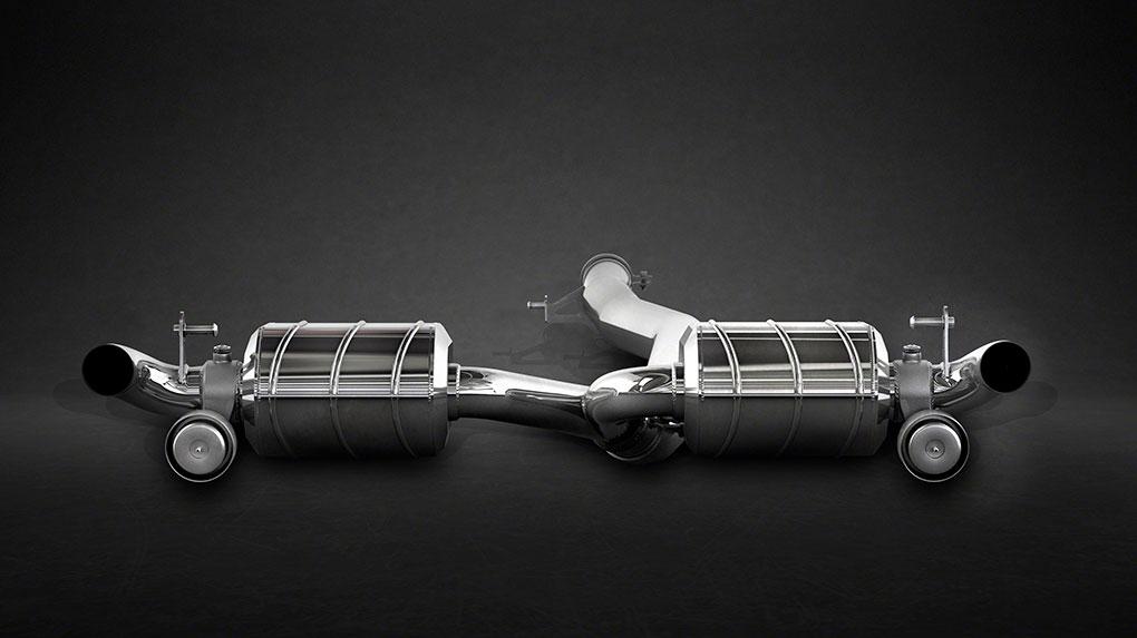 Выхлопная система Capristo Mercedes-Benz A45 AMG