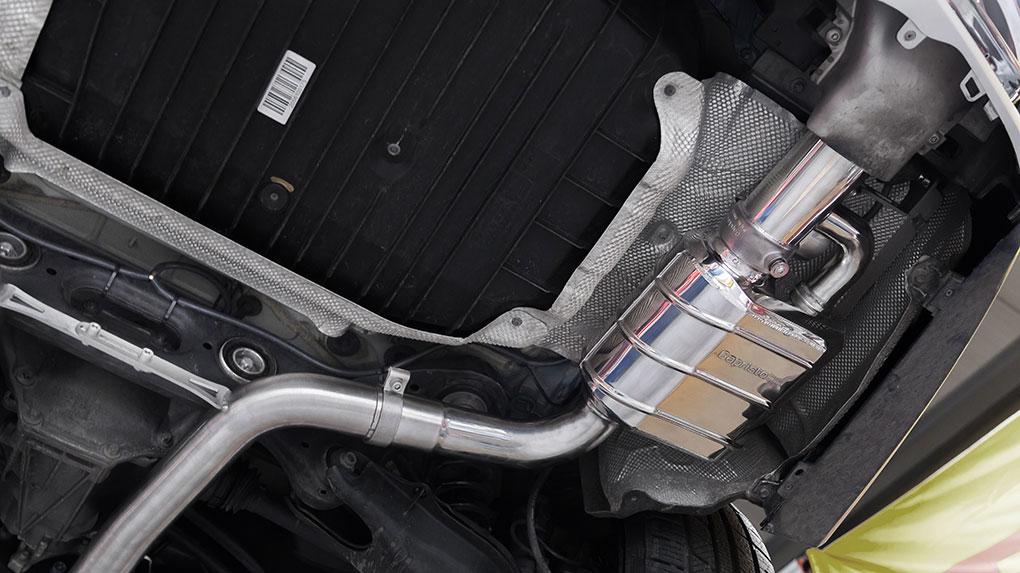 Выхлопная система Capristo Mercedes-Benz C43 AMG 205