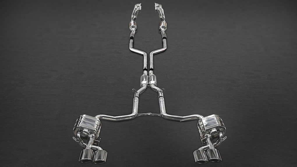 Полная выхлопная система Capristo Mercedes-Benz C63 AMG 204