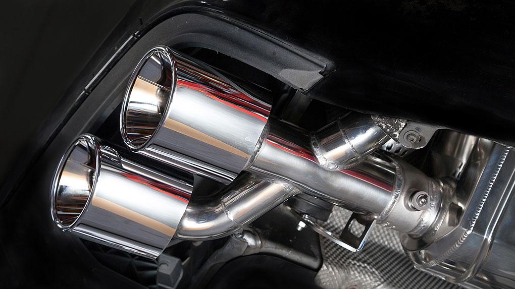 Выхлопная система Capristo Mercedes-Benz C63 AMG 204