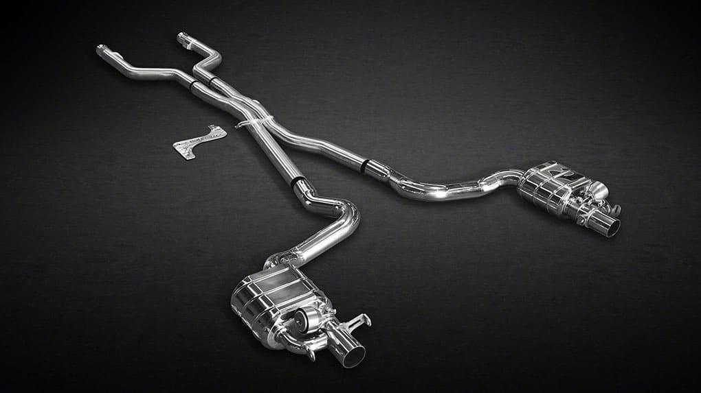 Выхлопная система Capristo Mercedes-Benz C63 AMG 205